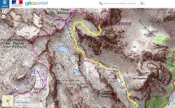 Carte Pic de Panestrel
