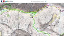 Carte Col du Cheval de Bois